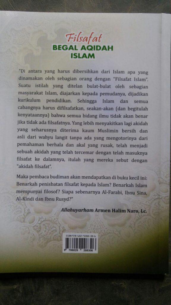 Buku Filsafat Begal Akidah Islam cover 2