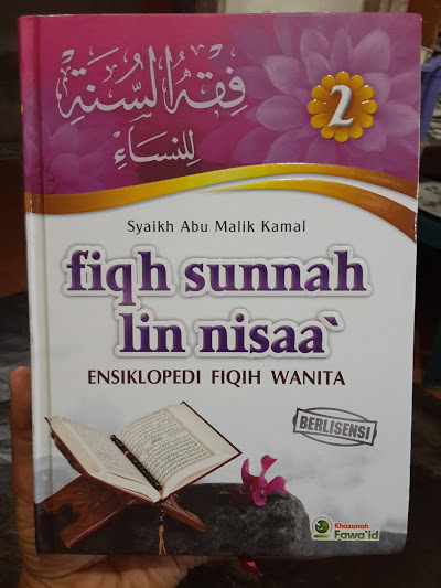 Buku Fiqh Sunnah Lin Nisaa Ensiklopedi Fiqih Wanita Cover