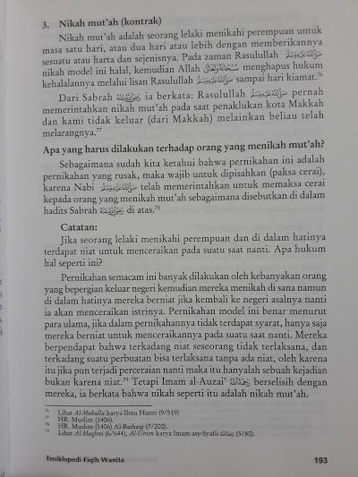 Buku Fiqh Sunnah Lin Nisaa Ensiklopedi Fiqih Wanita Isi