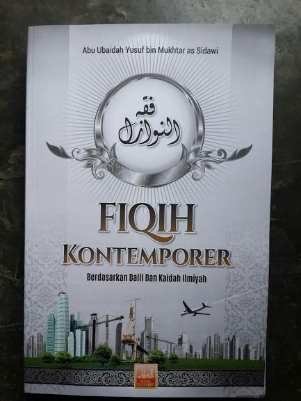Buku Fiqih Kontemporer Berdasarkan Dalil Dan Kaidah Ilmiyah Cover