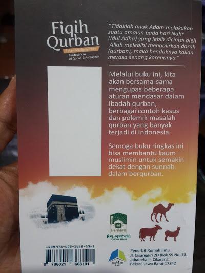 Buku Saku Fiqih Qurban Tata Cara Berqurban Cover 2