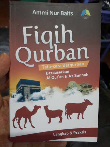 Buku Saku Fiqih Qurban Tata Cara Berqurban Cover