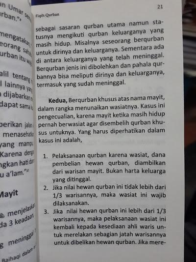 Buku Saku Fiqih Qurban Tata Cara Berqurban Isi