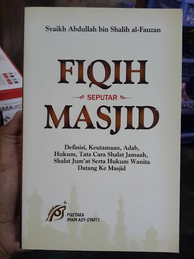 Buku Fiqih Seputar Masjid Cover