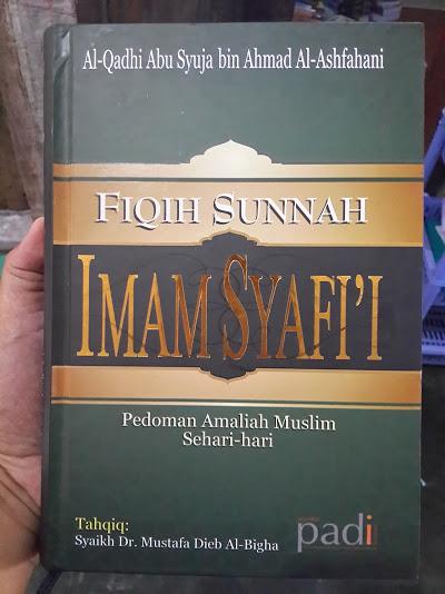 Buku Fiqih Sunnah Imam Syafi'I Pedoman Amaliah Muslim Cover