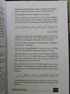Buku Fiqih Sunnah Imam Syafi'I Pedoman Amaliah Muslim Isi