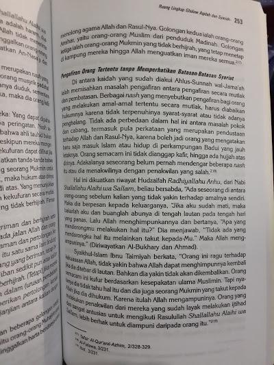 Buku Ghuluw Benalu Dalam Ber-Islam Isi