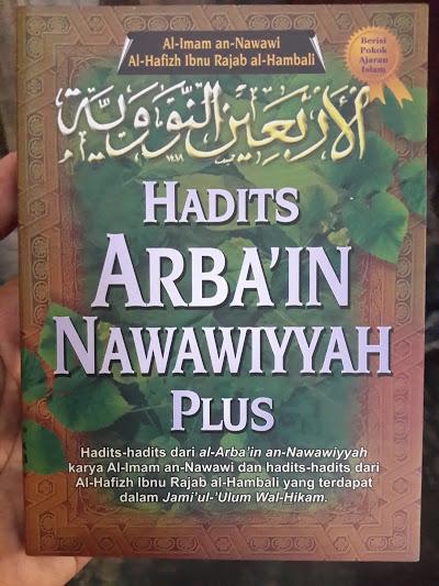 Buku Saku Hadits Arba'in Nawawiyyah Cover