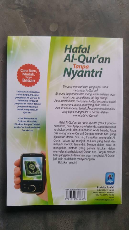 Buku Hafal Al-Qur'an Tanpa Nyantri cover 2