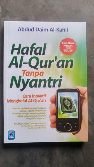 Buku Hafal Al-Qur'an Tanpa Nyantri cover