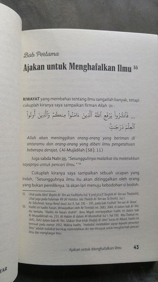 Buku Hafalan Buyar Tanda Tak Pintar isi