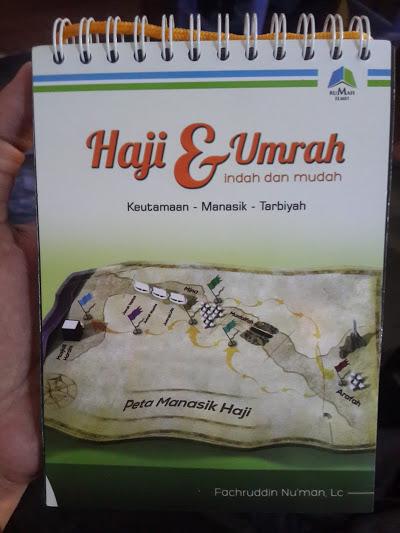 Buku Panduan Haji Dan Umrah Indah Mudah Spiral Cover