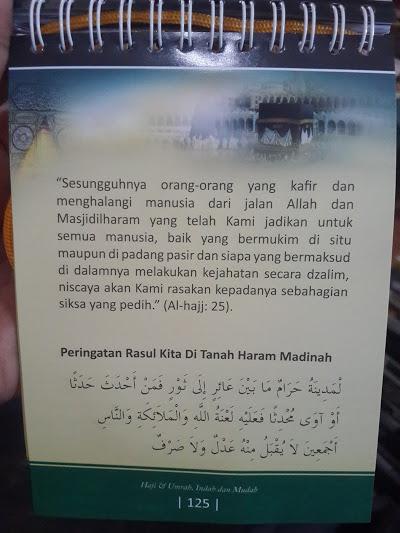 Buku Panduan Haji Dan Umrah Indah Mudah Spiral Cover Isi 2