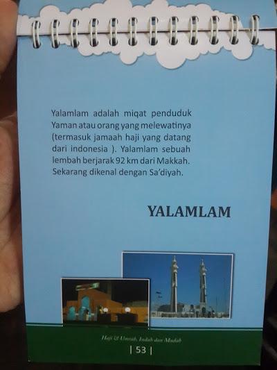 Buku Panduan Haji Dan Umrah Indah Mudah Spiral Cover Isi