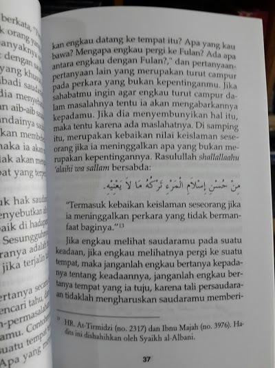 Buku Hak Hak Persaudaraan Islam Isi