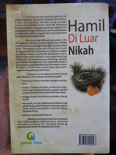 Buku Hamil di Luar Nikah Cover 2