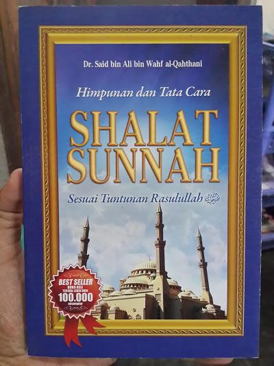 Buku Himpunan Dan Tata Cara Shalat Sunnah Sesuai Tuntunan Cover