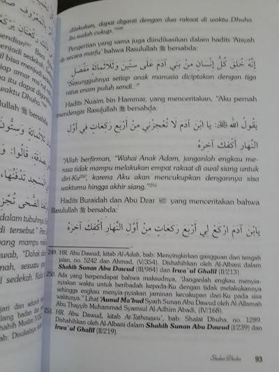 Buku Himpunan Dan Tata Cara Shalat Sunnah Sesuai Tuntunan Isi