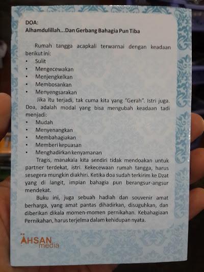 Buku Saku Himpunan Doa Dan Amalan Suami Shalih Cover 2
