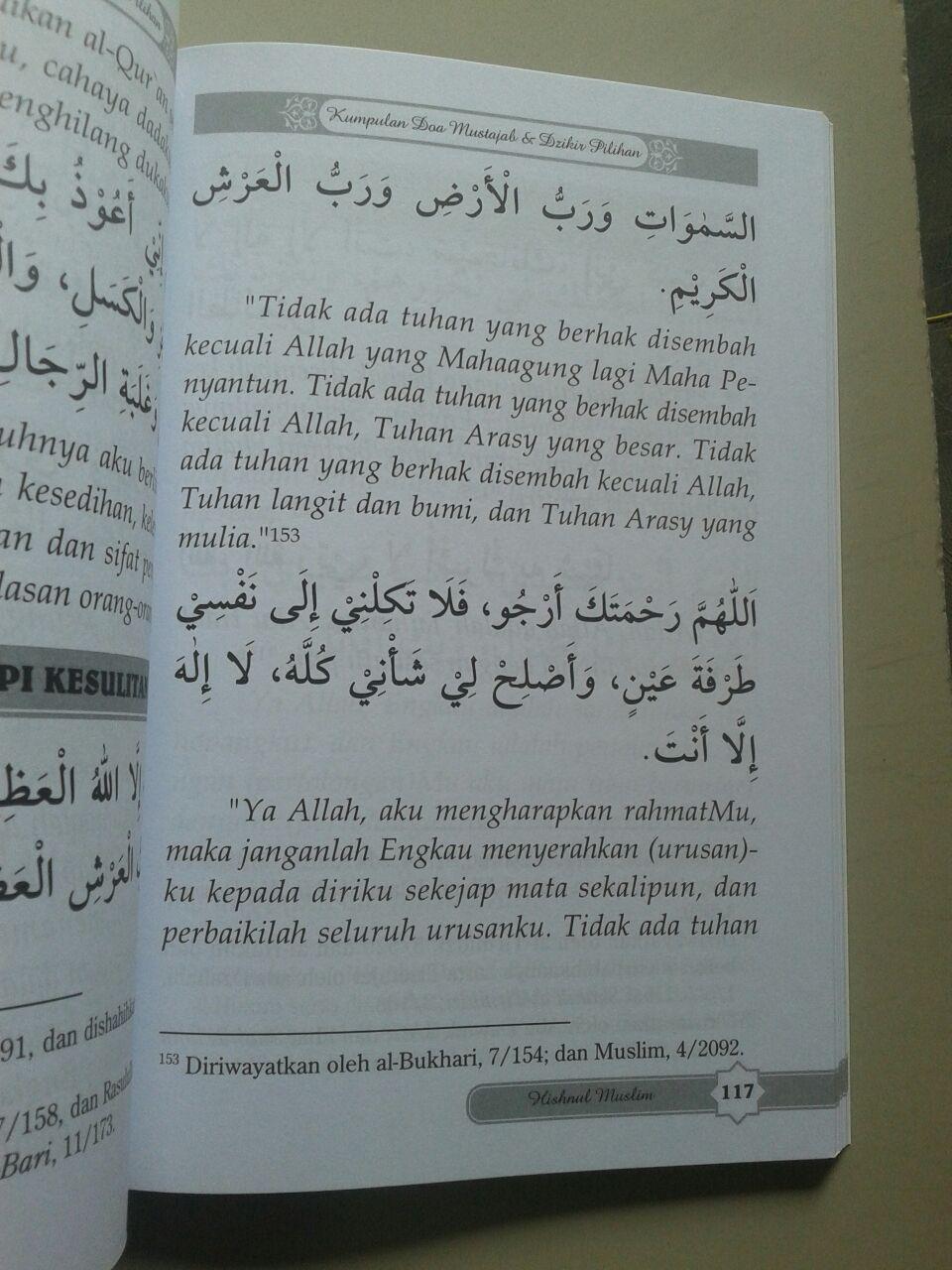 Buku Hisnul Muslim Kumpulan Doa & Dzikir Pilihan isi 4