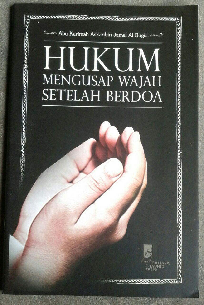 Buku Hukum Mengusap Wajah Setelah Berdoa cover 2