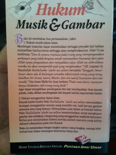 Buku Saku Hukum Musik Dan Gambar Cover Belakang