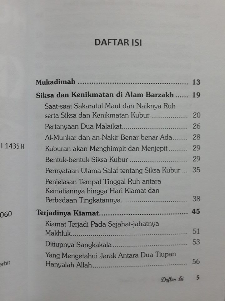 Buku Huru Hara Di Hari Kiamat isi 2