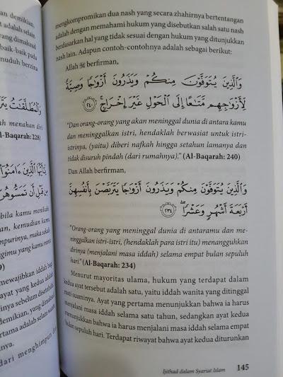Buku Ijtihad Dalam Syariat Islam Isi