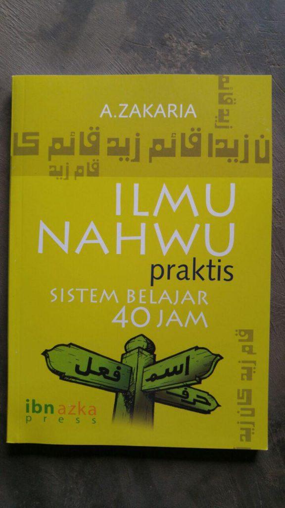 Buku Ilmu Nahwu Praktis Sistem Belajar 40 Jam cover