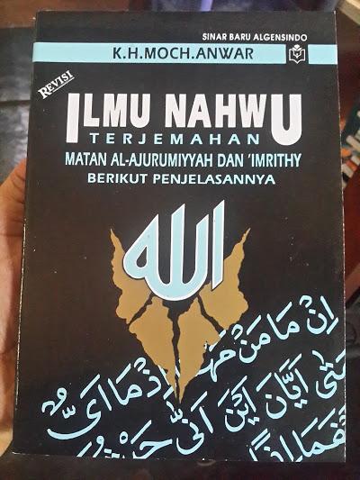 Buku Ilmu Nahwu Terjemahan Matan Ajurumiyah Dan Imrithy Cover