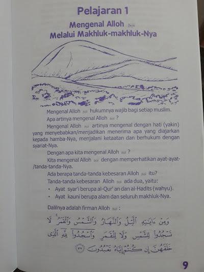 Buku Anak Ilmu Pengetahuan Alam Dalam Al-Quran Hadits Isi 2