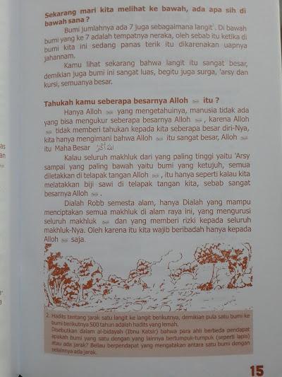 Buku Anak Ilmu Pengetahuan Alam Dalam Al-Quran Hadits Isi
