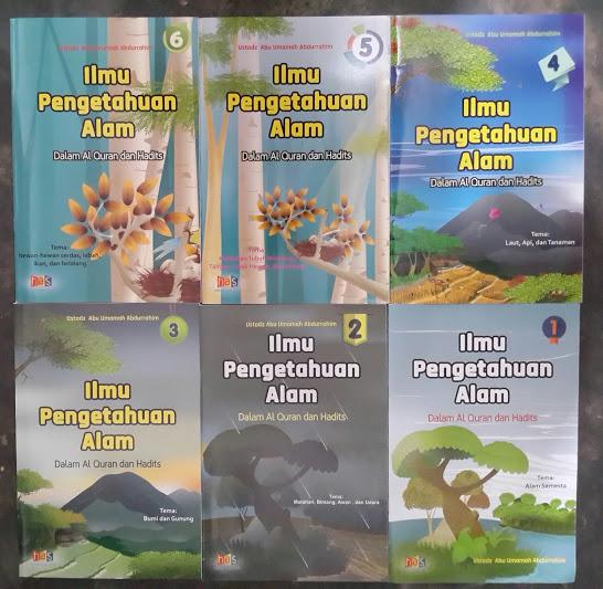 Buku Anak Ilmu Pengetahuan Alam Dalam Al-Quran Hadits Cover Set