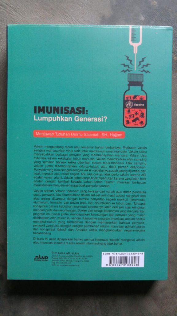 Buku Imunisasi Lumpuhkan Generasi? cover 2