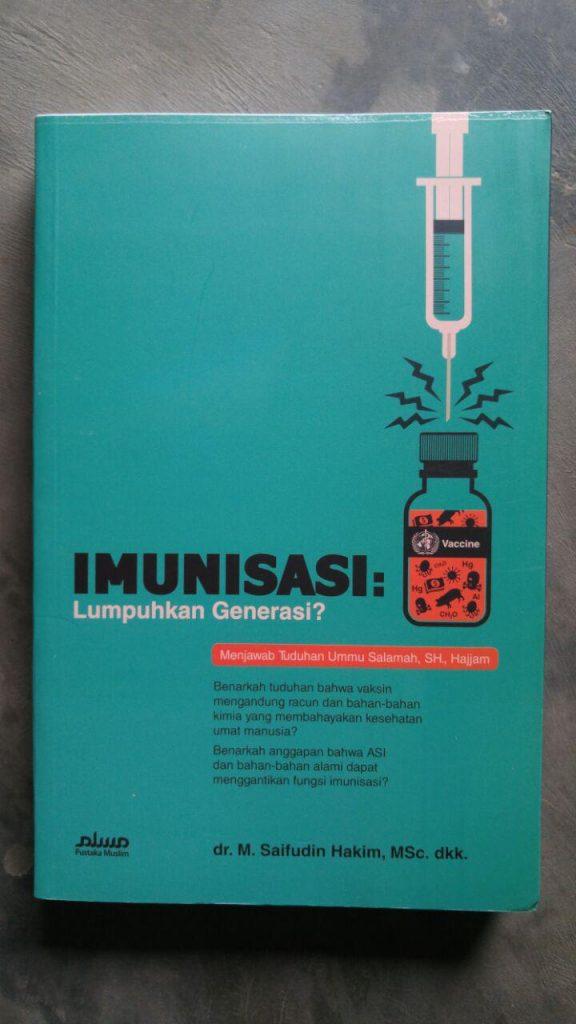 Buku Imunisasi Lumpuhkan Generasi? cover