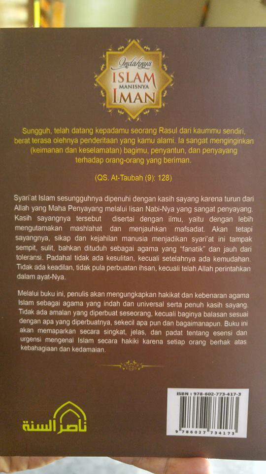 Buku Indahnya Islam Manisnya Iman cover 2