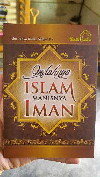 Buku Indahnya Islam Manisnya Iman cover