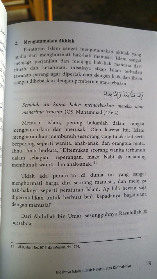 Buku Indahnya Islam Manisnya Iman isi