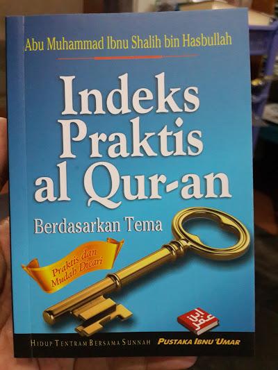 Buku Indeks Praktis Al-Quran Berdasarkan Tema Cover