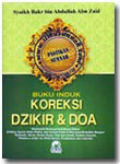 Buku Induk Koreksi Dzikir Dan Doa