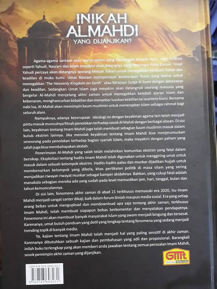 Buku Inikah Al-Mahdi Yang Dijanjikan Cover 2