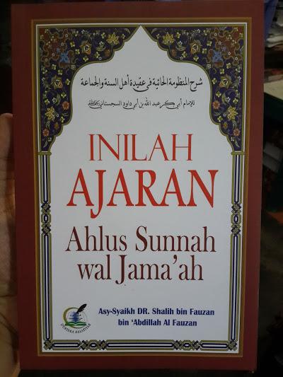 Buku Inilah Ajaran Ahlus Sunnah Wal Jama'ah Cover