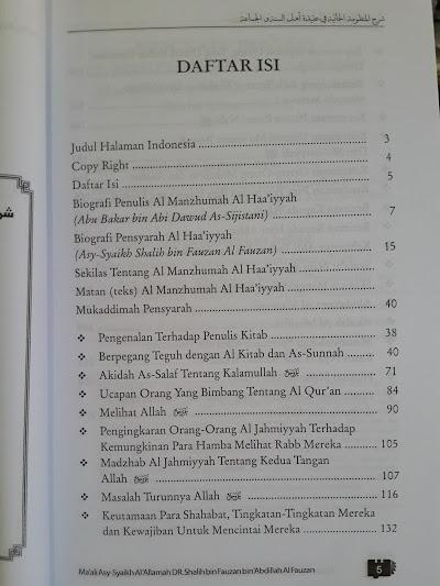 Buku Inilah Ajaran Ahlus Sunnah Wal Jama'ah Daftar Isi