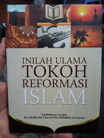 inilah ulama tokoh reformasi Islam buku cover