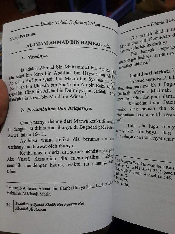 inilah ulama tokoh reformasi Islam buku isi