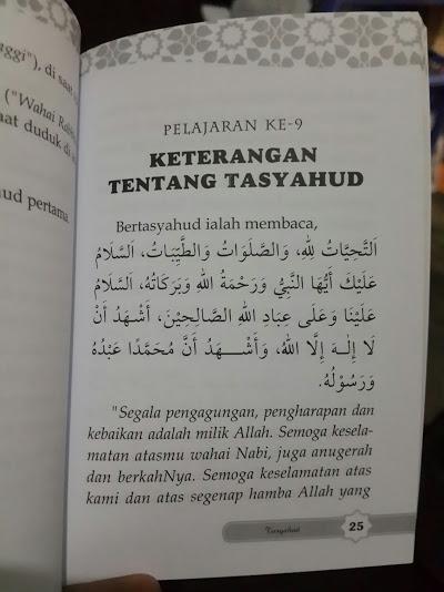 Buku Saku Inti Ajaran Islam Isi