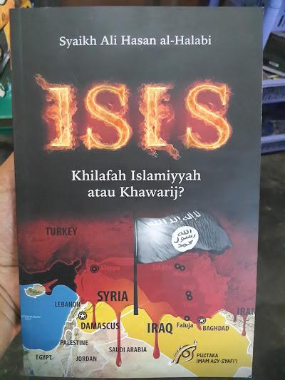 Buku ISIS Khilafah Islamiyyah Atau Khawarij Cover