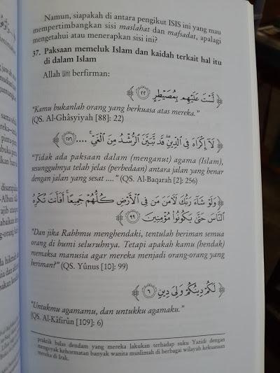 Buku ISIS Khilafah Islamiyyah Atau Khawarij Isi