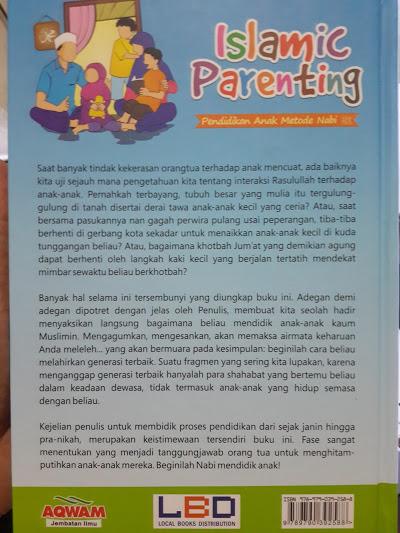 Buku Islamic Parenting Pendidikan Anak Metode Nabi Cover 2