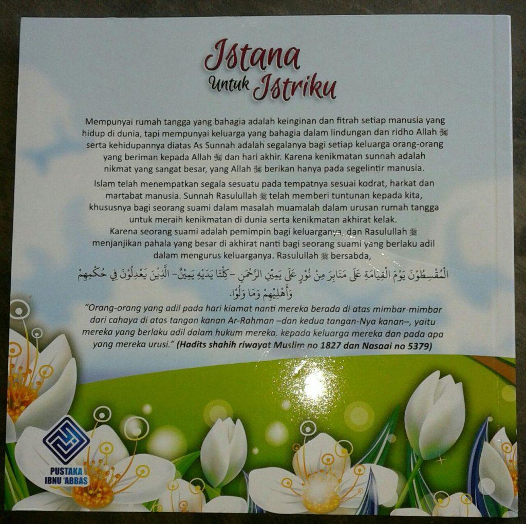 Buku Istana Untuk Istriku & 47 Nasihat Menjadi Suami Idaman cover 2